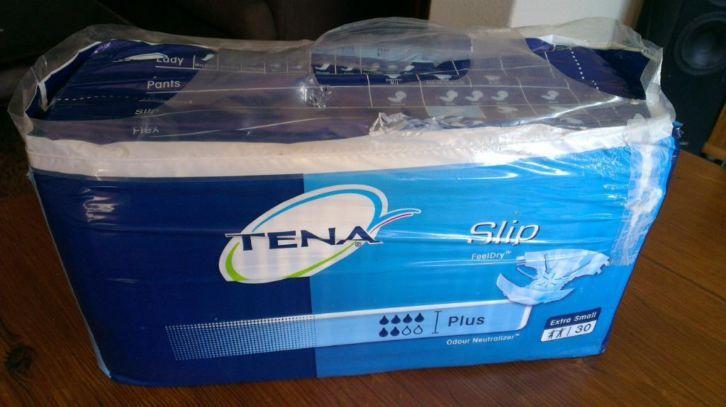 Tena Slip Plus extra small (XS) Luiers Bedplassen