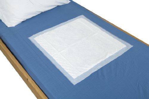 Tena bed onderlegger op bed