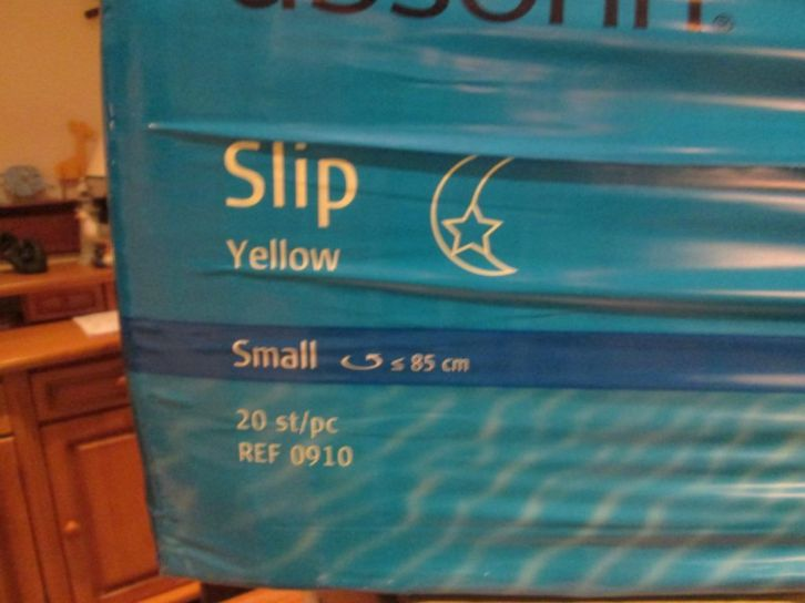 absorin slip yellow small