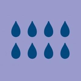 8 Druppels absorptie luier