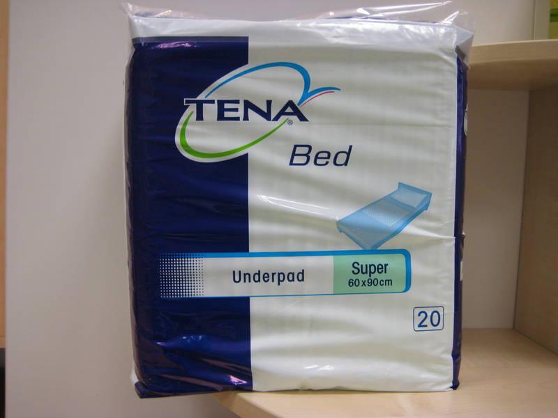 Tena bed onderlegger (pak 20 stuks)