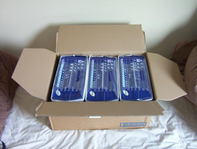 tena slip luiers 3 verpakkingen in een doos