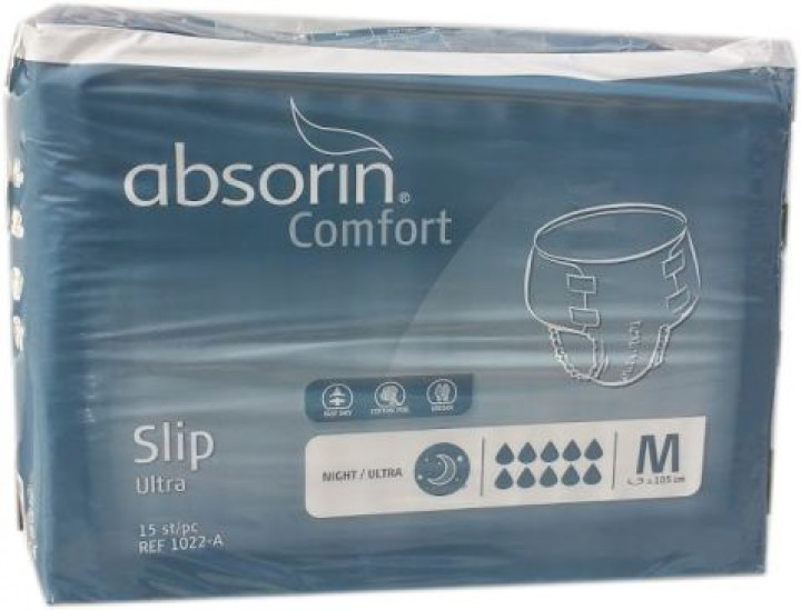 Absorin Slip Night Ultra Medium